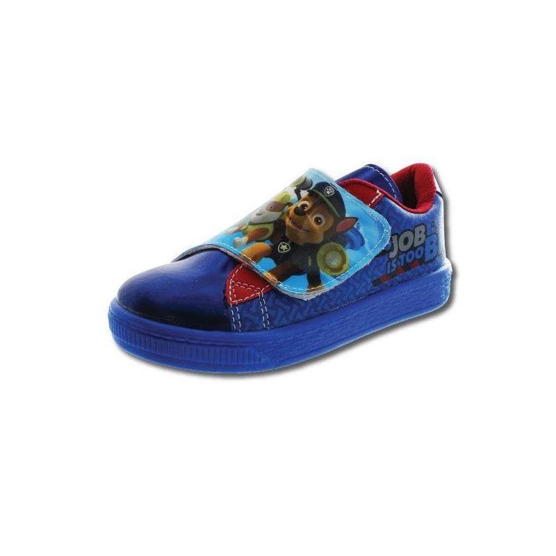 Sneakers azules estampados T06017