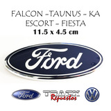 OVALO LOGO FORD ESCORT FALCON SIERRA  TAUNUS 11.5 cm