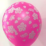globo fiesta tropical x5u. surtido desinflado apto helio