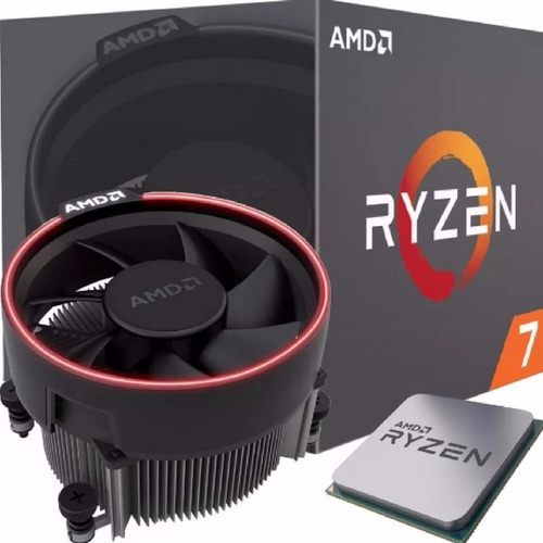 Procesador Amd Ryzen 7 1700 8 Cores 3.0/3.7 Box Am4 Cooler