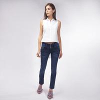 Blusa Blanca Con Botones 019382