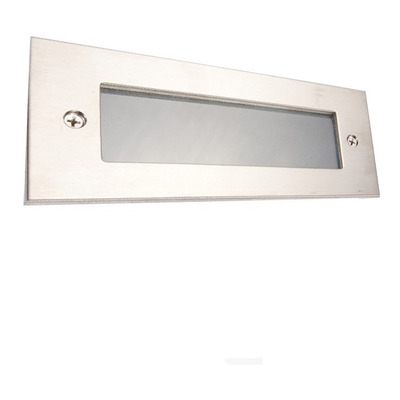 Spot Embutir Aluminio Pared Led Incluido Ideal Escalera
