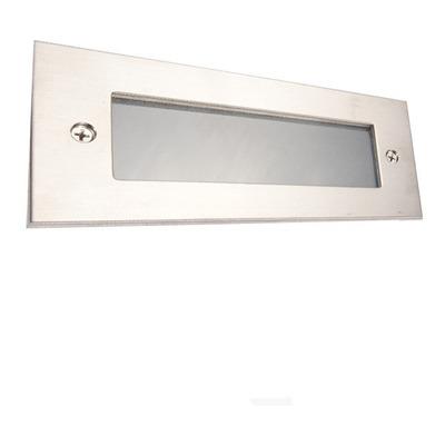 Spot Embutir Aluminio Pared Led Incluido Ideal Escalera