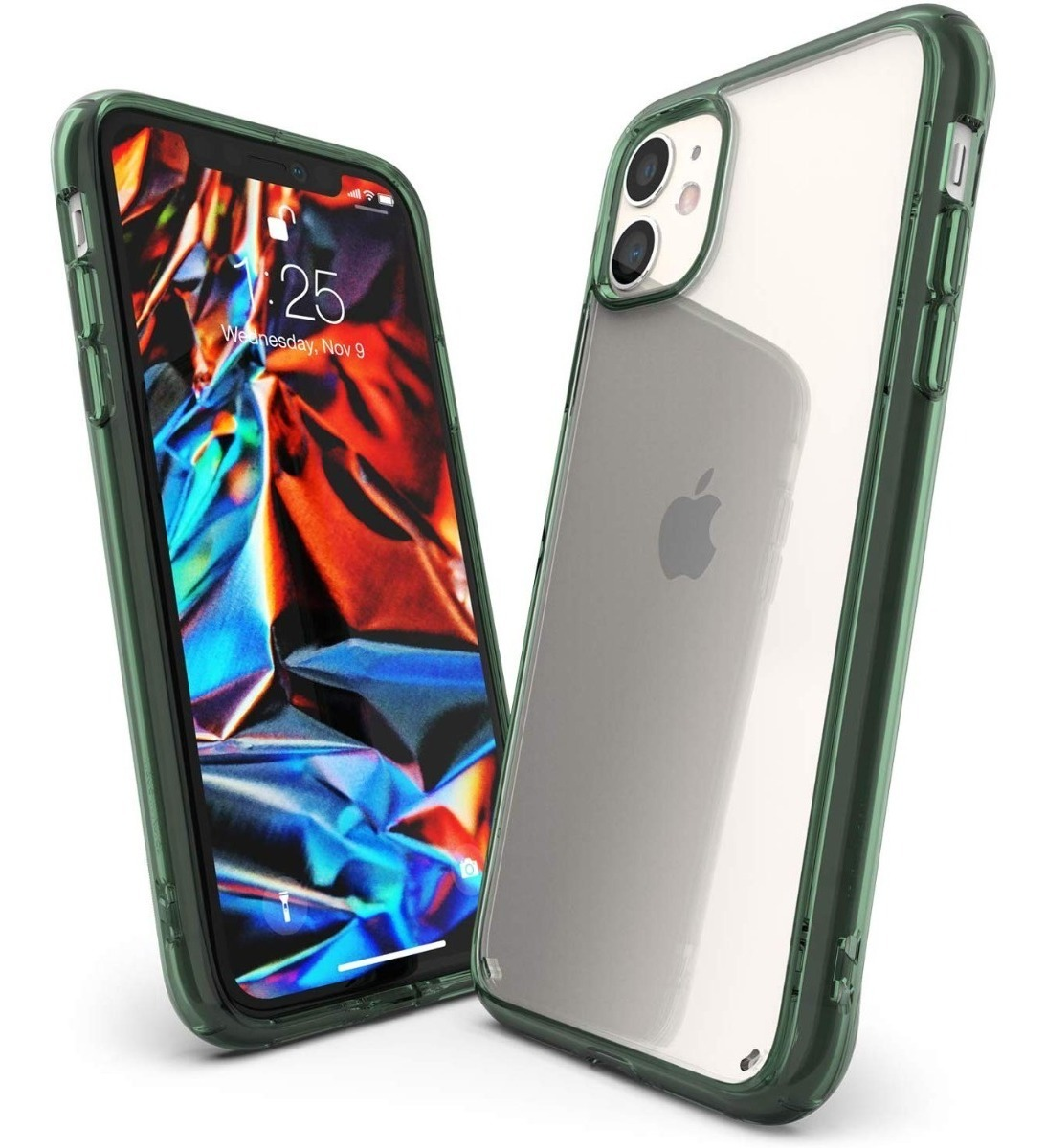 FUNDA RINGKE FUSION IPHONE 11 PRO MAX PINE GREEN