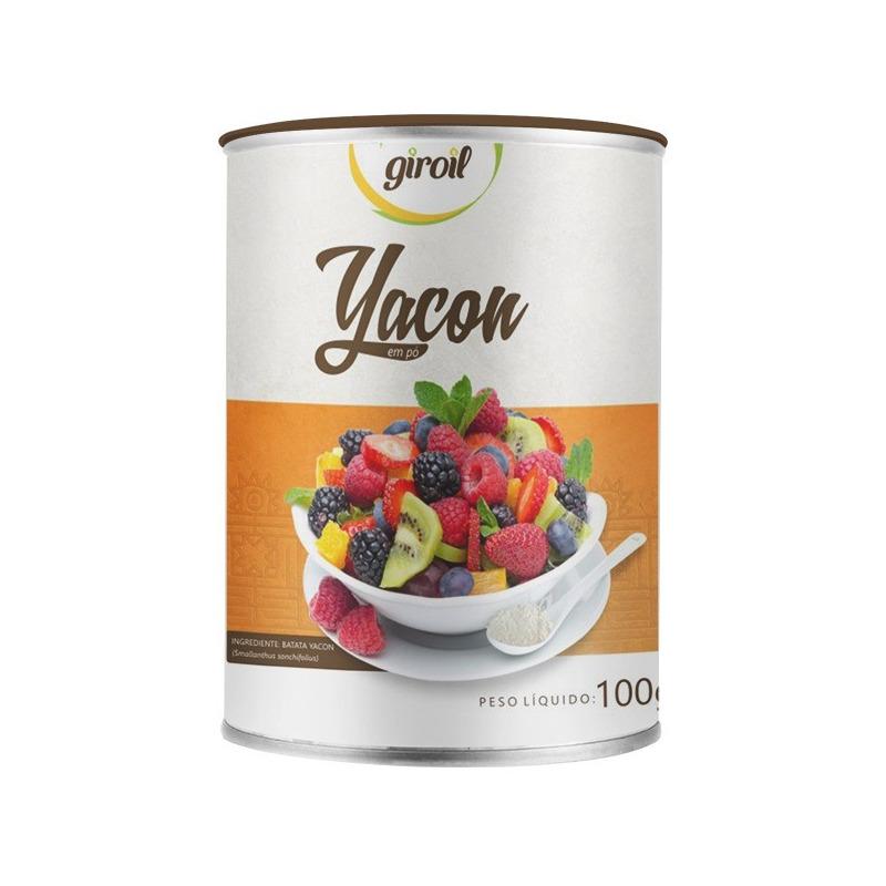 Batata Yacon em Po 100g - Giroil