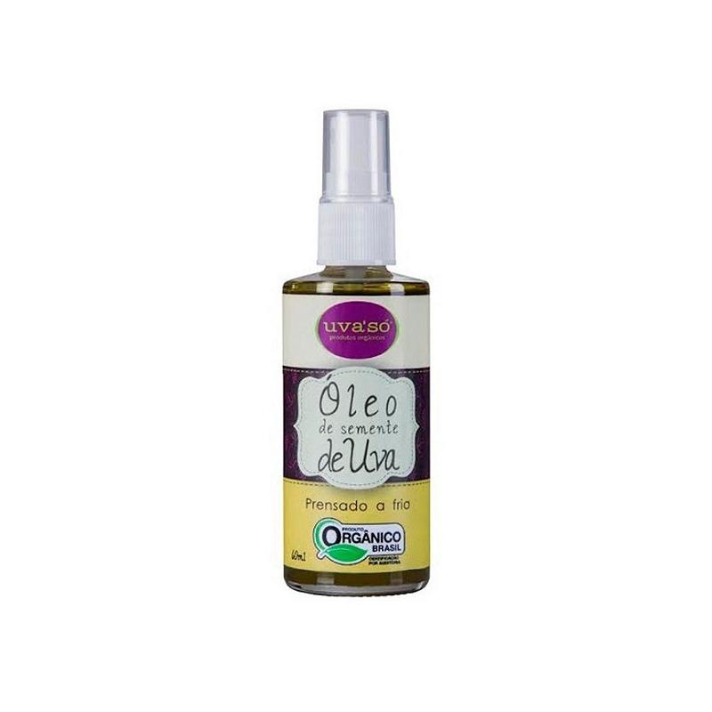 Oleo de Semente de Uva Organico 60ml - Uva'So