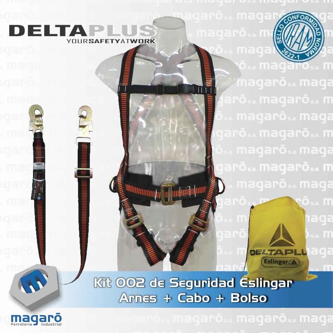 Kit de Seguridad Constructor 002 Eslingar