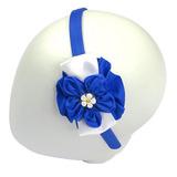 Tiara - Azul/Branco