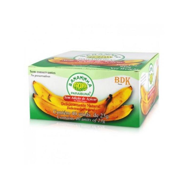 Caixa Bananinha Paraibuna Sem Acucar - 40 Un de 23g