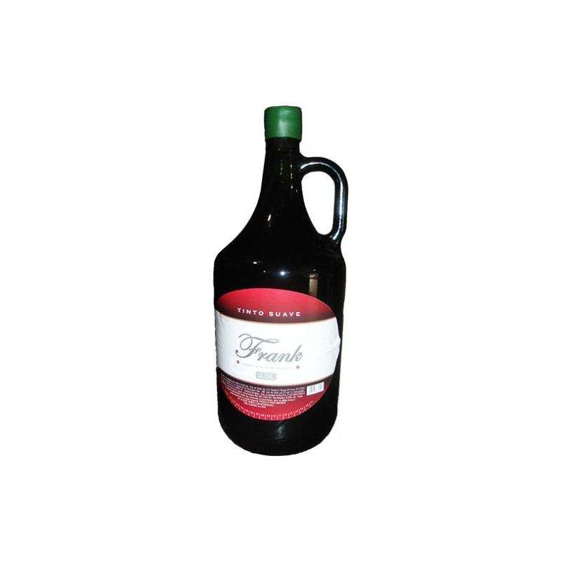 Vinho Tinto Suave Izabel/Bordô 2 L - Frank
