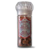 Sal Rosa com Mix de Pimentas com Moedor - 90g El Shaddai