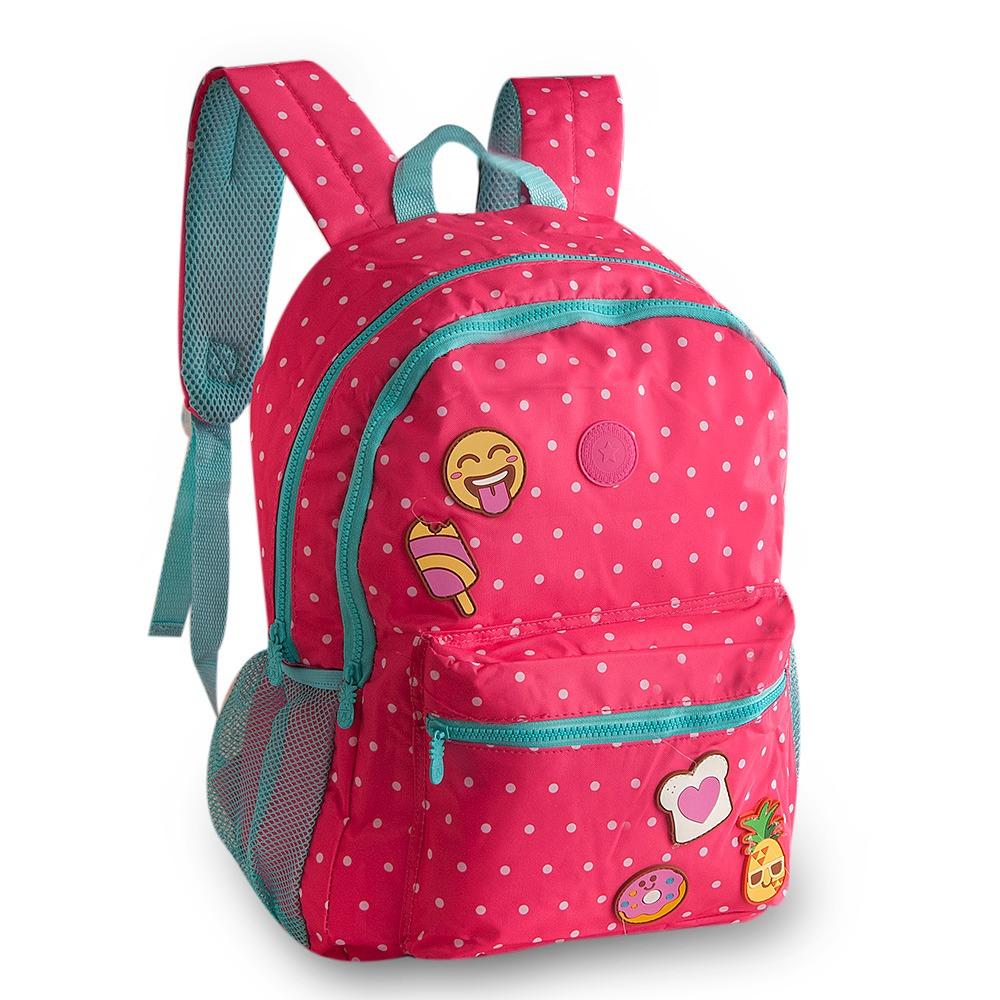 d3b03a019 Mochila Infantil Summer Fun Emoji Rosa CK9243J Clio Kids   boaloja