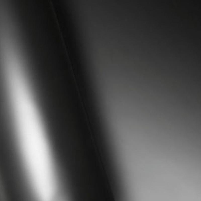 Adesivo para envelopamento automotivo preto fosco larg. 1,38 m