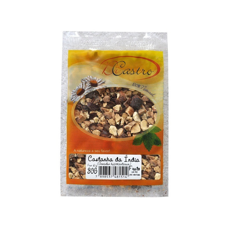 Castanha da india - Kit 2 x 30g - DiCastro