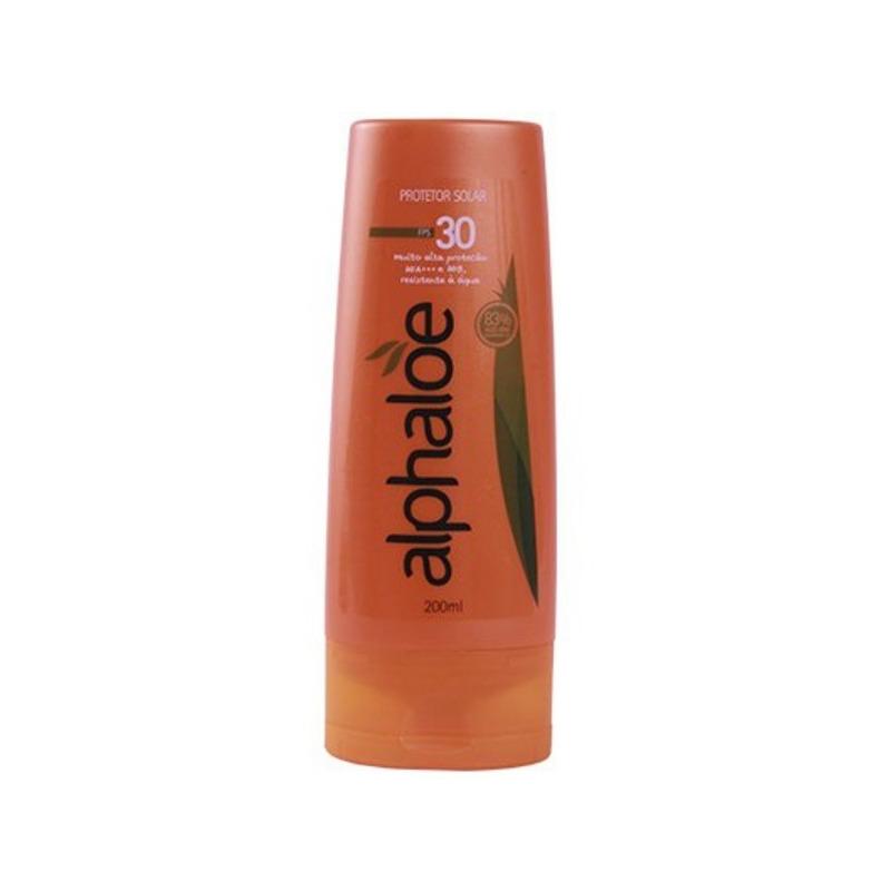 Protetor Solar FPS 30 83% Aloe Vera(Conc.2:1) 200ml Alphaloe