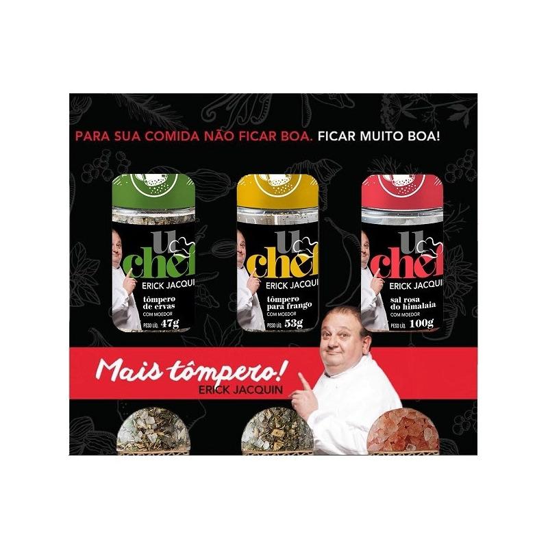 "Kit Frango 03 ""Tomperos"" 200g - U Chef Erick Jacquin"