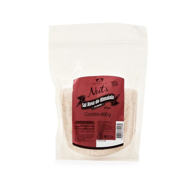 Sal Rosa do Himalaia Fino - 1Kg - Empório Nuts