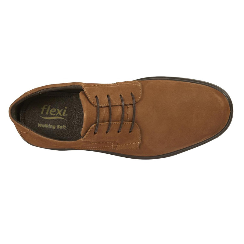 Zapato Flexi miel agujetas F59301
