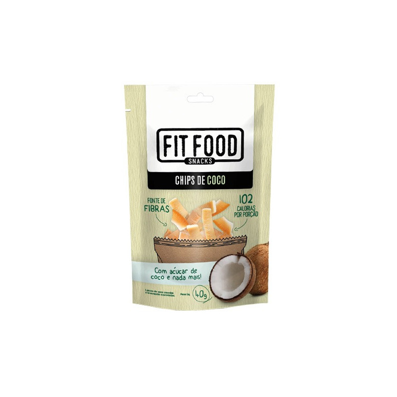 Chips de Coco - 40G - Fit Food