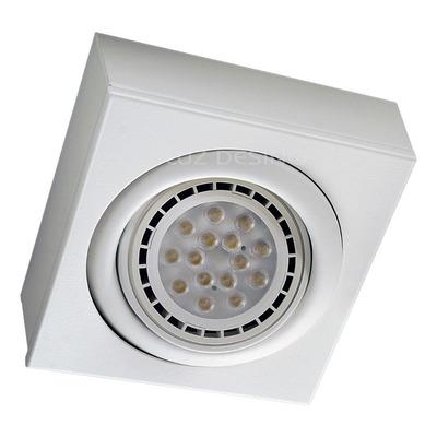 Plafon Cardanico 1 Luz Blanco Apto Led Ar111 Gam 2020
