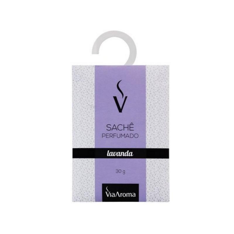 Sache Perfumado - Aroma Lavanda - 30g - Via Aroma