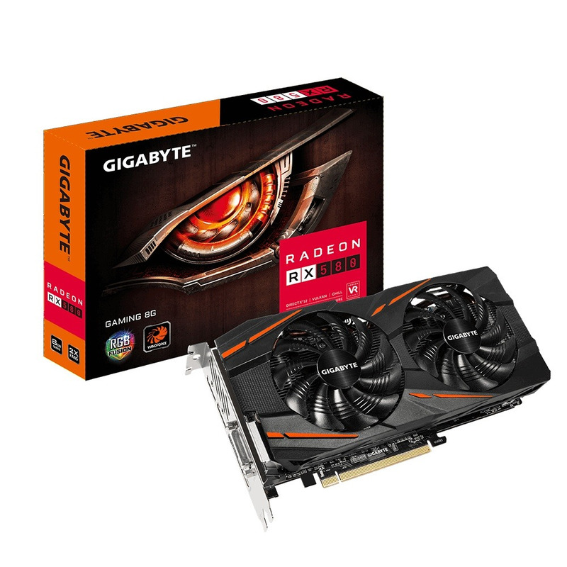 Tarjeta De Video Radeon Rx580 Gigabyte 4gb