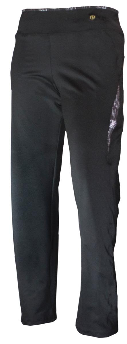 Pantalon Recto Con Bolsillo Cierre Con Sublimado