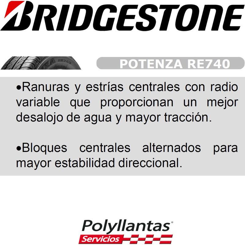 175-70 R13 82T Potenza Re 740 Bridgestone D