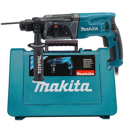 Martelete Combinado 24mm c/Encaixe SDS PLUS 800 Watts - HR2470 - Makita