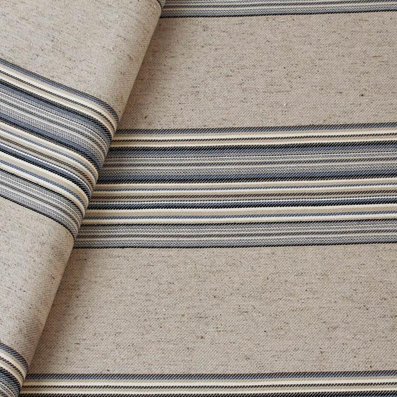 Tecido de almofada decorativa azul marinho Coleção Vicenzza