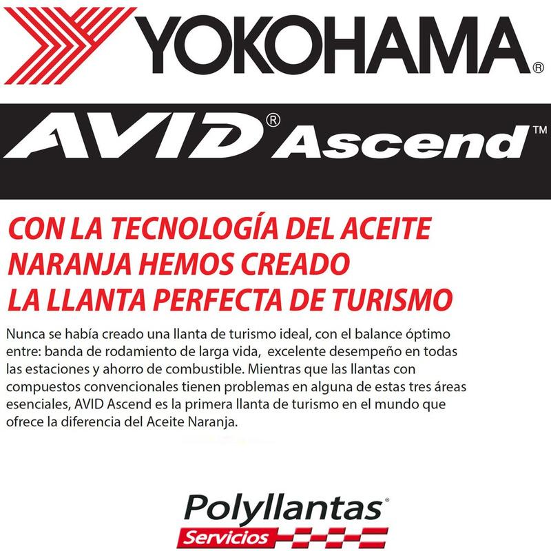 205-55 R16 89T Avid Ascend S323 Yokohama