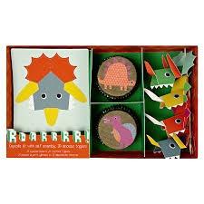 Cupcakes kit Dinosaurios