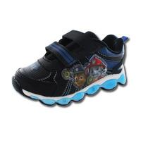 Sneakers Paw Patrol negros con correa T05053