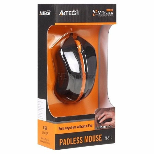 Mouse Notebook Con Cable A4tech N-310 Similar A Laser