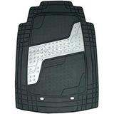 kit 99 mercadolibre cubrealfombra universal eggoflex 4 piezas con aplique plata