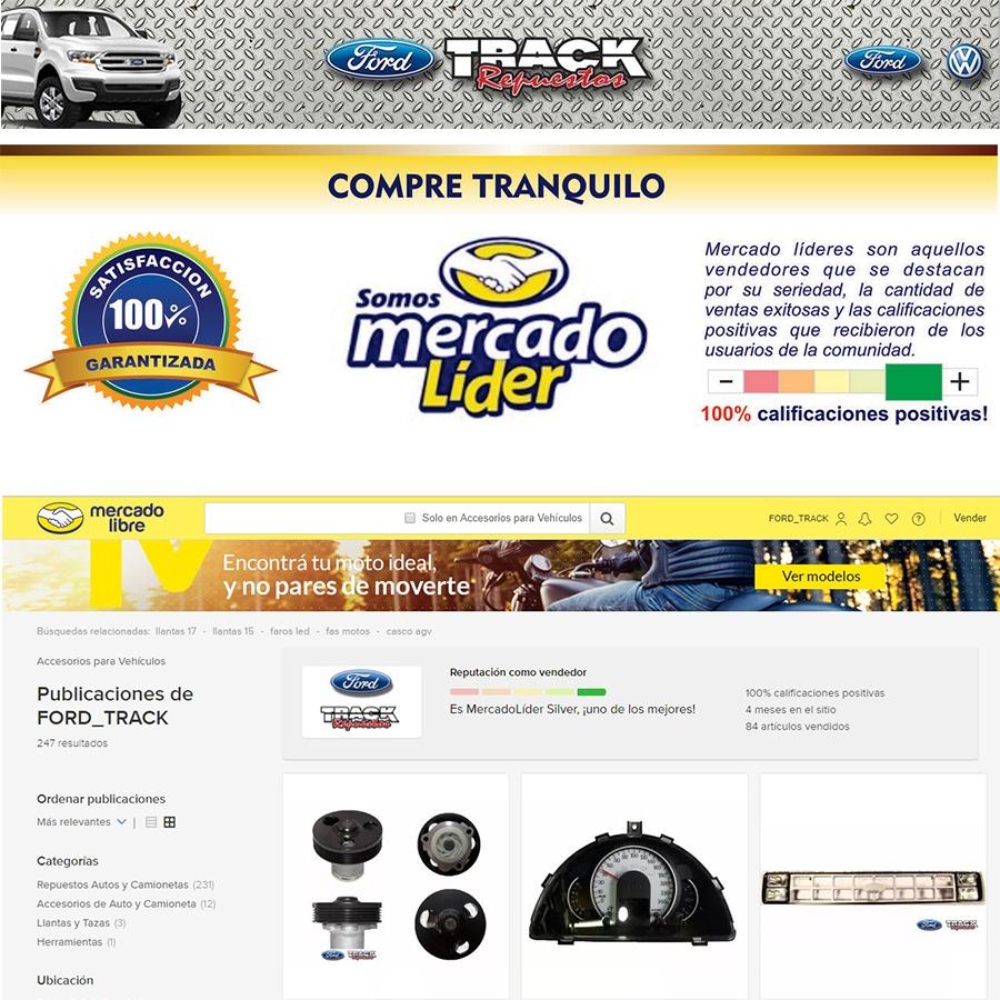 JUEGO SOPORTES  MOTOR FIESTA NAFTA 96/..