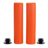 MANOPLA DE SILICONE HIGH ONE 135MM LARANJA