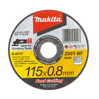 Disco de Corte Abrasivo 'Fast Cutting' 115 x 0.8 x 22,23mm - B-45727-25 - Makita