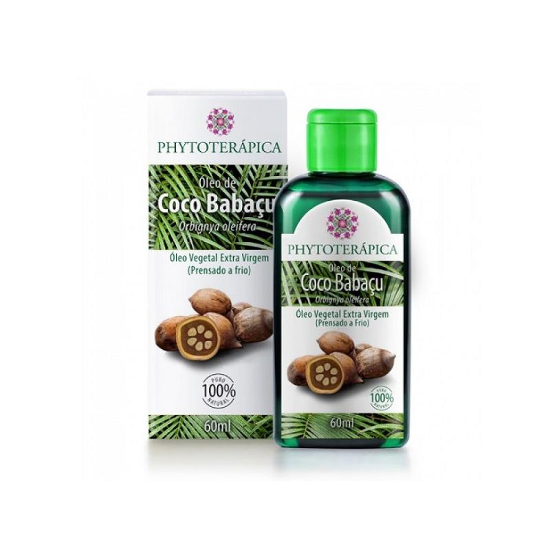 Oleo Vegetal de Coco Babacu - Phytoterapica 60ml