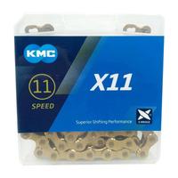 CORRENTE KMC X11 GOLD / DOURADO 118 ELOS - 11V