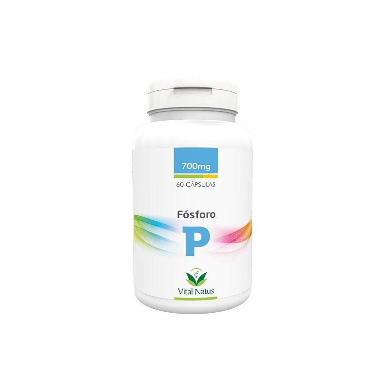 Fosforo (P) - 60 capsulas 700mg - Vital Natus