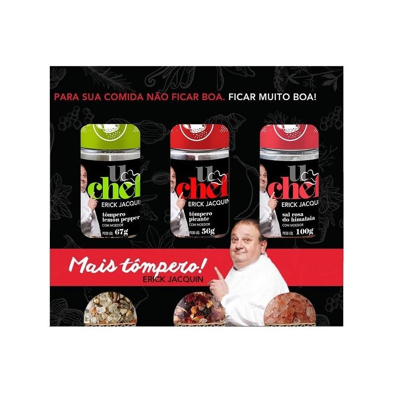 "Kit Citrico 03 ""Tomperos"" 206g - U Chef Erick Jacquin"