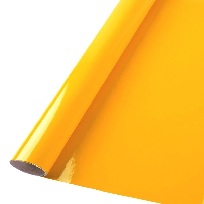 Vinil adesivo colormax amarelo ouro larg. 0,50 m