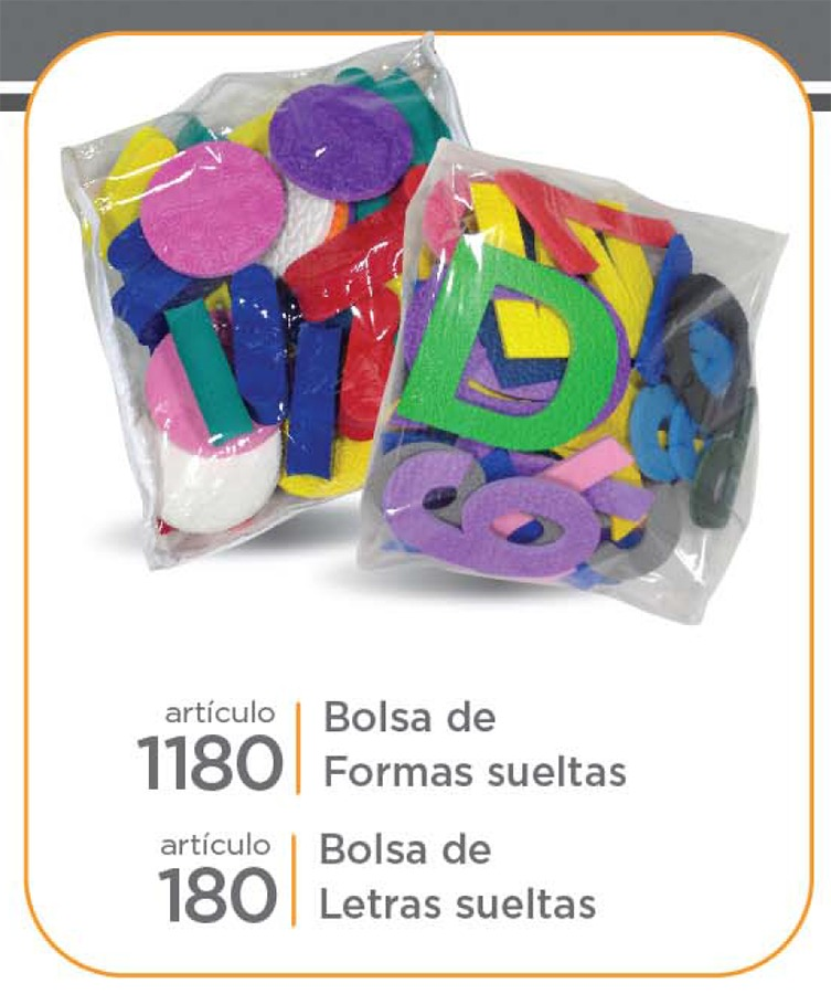 Art. 180 Bolsa de formas sueltas