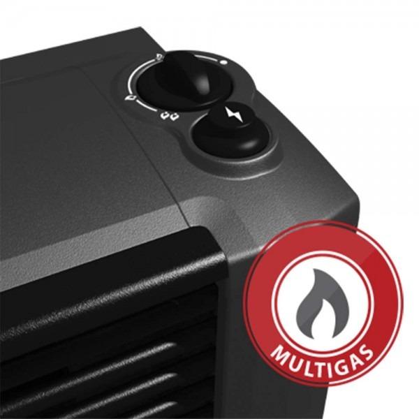 Calefactor Coppens 4000 Cal Peltre II Acero TB. Salida de...