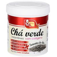 Cha Verde c/ Chia Colageno e Frutas Vermelhas 200g Mosteiro