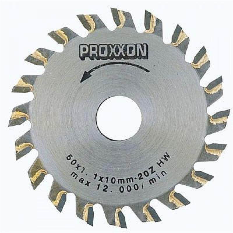 Disco de Serra com Pastilhas 50mm 20 Dentes para KS 230 - 28017 - Proxxon