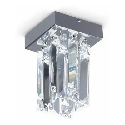 Lampara Plafon Sirius Cristal 1 Luz Con Led G627 01 Pal Sf
