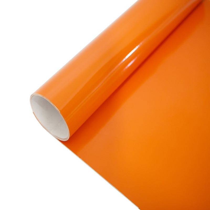Vinil adesivo Goldmax laranja larg. 0,61 m