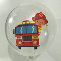 globo bombero cristal desinflado apto helio